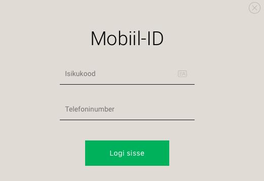Mobiili-ID kasutamine
